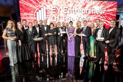 Die Sieger der Auszeichnung 'EY Entrepreneur Of The Year 2019' (Foto:EY)